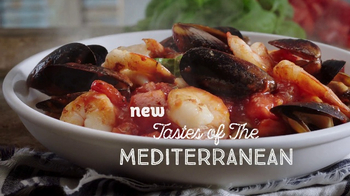 Olive Garden Tastes of the Mediterranean TV Spot, 'Italy's Lighter Side'