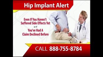 Gold Shield Group TV Spot, 'Hip Implant Alert' - Thumbnail 1