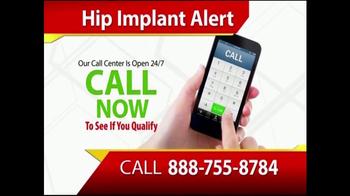 Gold Shield Group TV Spot, 'Hip Implant Alert' - Thumbnail 2