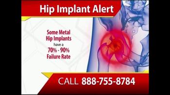 Gold Shield Group TV Spot, 'Hip Implant Alert' - Thumbnail 3