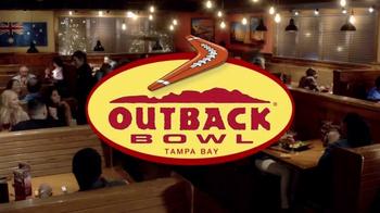 Outback Steakhouse Outback Bowl TV Spot, 'Free Appetizer' - Thumbnail 1