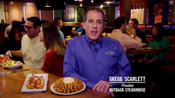 Outback Steakhouse Outback Bowl TV Spot, 'Free Appetizer' - 1 commercial airings