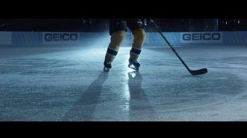 GEICO TV Spot, 'Build Up' Featuring Patrice Bergeron