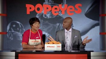 Popeyes Classic Cajun Wings TV Spot, 'Football Chat' Featuring Jerry Rice