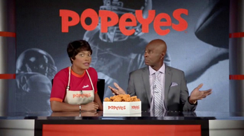 Popeyes Classic Cajun Wings TV Spot, 'Football Chat' Featuring Jerry Rice - 2513 commercial airings