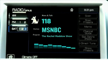 SiriusXM Satellite Radio TV Spot, 'MSBNC' - Thumbnail 2