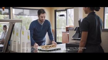 Subway Steak & Cheese Footlong TV Spot, 'Now Just Six Dollars' - Thumbnail 8