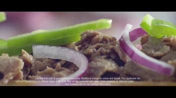 Subway Steak & Cheese Footlong TV Spot, 'Now Just Six Dollars' - Thumbnail 5