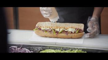 Subway Steak & Cheese Footlong TV Spot, 'Now Just Six Dollars' - Thumbnail 6