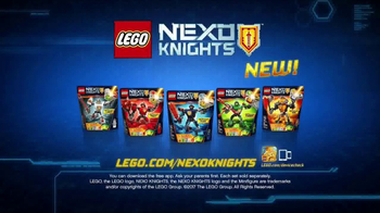 LEGO NEXO Knights Battle Suits TV Spot, 'The Power to Combine'