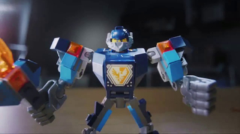 LEGO NEXO Knights Battle Suits TV Spot, 'The Power to Combine' - Thumbnail 4