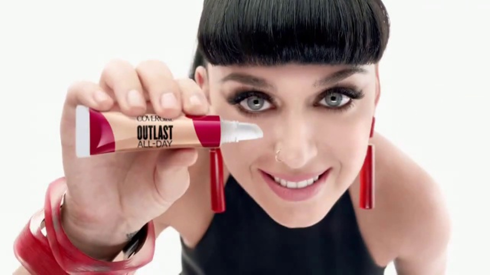 CoverGirl Outlast All-Day TV Commercial, 'Disappearing Act' Featuring Katy Perry
