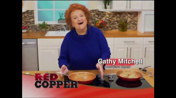 Red Copper Pan TV Spot, 'Anti-Scratch Technology' Featuring Cathy Mitchell - Thumbnail 1