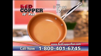 Red Copper Pan TV Spot, 'Anti-Scratch Technology' Featuring Cathy Mitchell