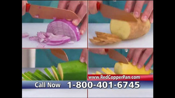 Red Copper Pan TV Spot, 'Anti-Scratch Technology' Featuring Cathy Mitchell - Thumbnail 9