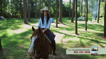 Louisiana Office of Tourism TV Spot, 'Camping Fall 2016' - Thumbnail 2