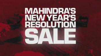 Mahindra New Year's Resolution Sale TV Spot, 'UTV' - Thumbnail 4