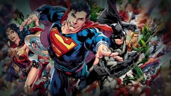 DC Comics TV Spot, 'Rebirth: Graphic Novels' - 191 commercial airings
