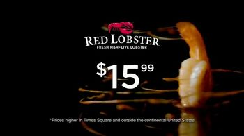 Red Lobster Big Festival of Shrimp TV Spot, 'Thinking About It'
