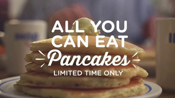 IHOP All You Can Eat Pancakes TV Spot, 'Stretchy Pants' - Thumbnail 2
