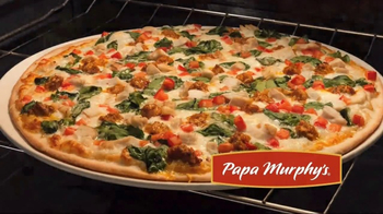 Papa Murphy's Tuscan Chicken & Sausage Pizza TV Spot, 'Comfy Spot' - Thumbnail 1