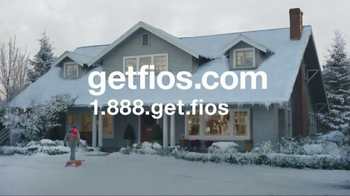 Fios by Verizon TV Spot, 'Sled Jump: January' Song by Steve Miller Band - Thumbnail 8