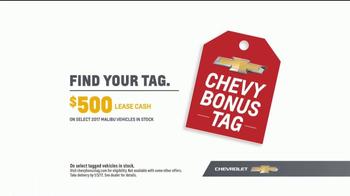 Chevrolet Bonus Tag Sales Event TV Spot, 'Malibu Bonus' [T2] - Thumbnail 9