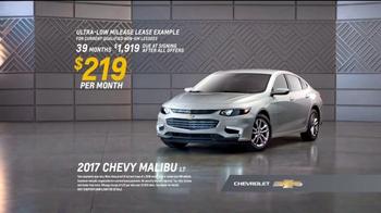 Chevrolet Bonus Tag Sales Event TV Spot, 'Malibu Bonus' [T2] - Thumbnail 8