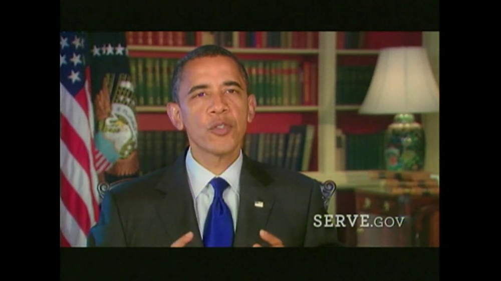 United We Serve TV Commercial, 'My American Story' Featuring Barack Obama