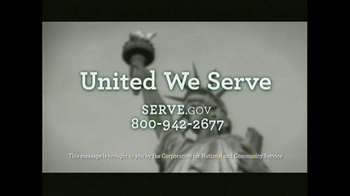 United We Serve TV Spot, 'My American Story' Featuring Barack Obama - Thumbnail 7
