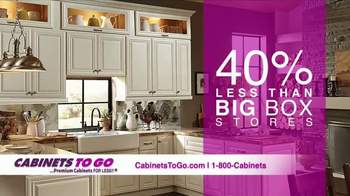 Cabinets To Go TV Spot, 'Brighten Up Your Kitchen' - Thumbnail 4