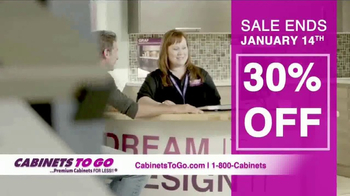 Cabinets To Go TV Spot, 'Brighten Up Your Kitchen' - Thumbnail 7