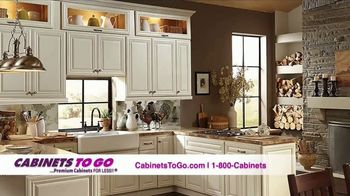 Cabinets To Go TV Spot, 'Brighten Up Your Kitchen' - 50 commercial airings