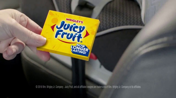 Juicy Fruit Longer Lasting Gum TV Spot, 'Family Uses Zippers to Connect' - Thumbnail 2