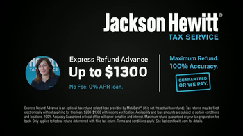 Jackson Hewitt TV Spot, 'Delayed Refunds' - Thumbnail 10
