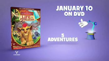 The Lion Guard: Life in the Pride Lands Home Entertainment TV Spot - Thumbnail 9