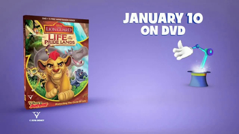 The Lion Guard: Life in the Pride Lands Home Entertainment TV Spot - Thumbnail 8