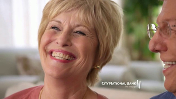 City National Bank TV Spot, \'Cozette Vergari\'