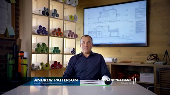 City National Bank TV Spot, 'Patterson Custom Homes' - Thumbnail 1