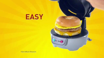Hamilton Beach Breakfast Sandwich Maker TV Spot, 'Recipe eBook' - Thumbnail 2