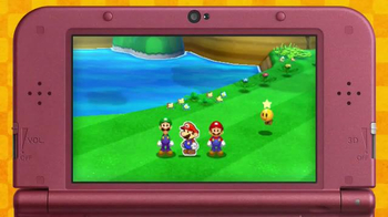 Mario & Luigi Paper Jam TV Spot, 'Disney Channel: Two Worlds' - Thumbnail 1