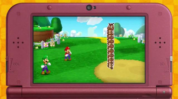 Mario & Luigi Paper Jam TV Spot, 'Disney Channel: Two Worlds' - Thumbnail 2