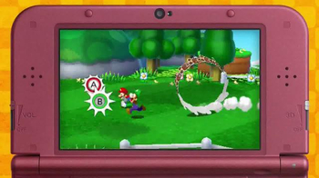 Mario & Luigi Paper Jam TV Spot, 'Disney Channel: Two Worlds' - Thumbnail 3