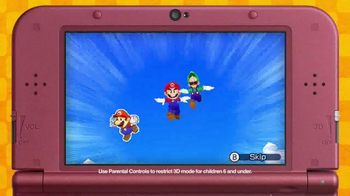 Mario & Luigi Paper Jam TV Spot, 'Disney Channel: Two Worlds' - Thumbnail 5