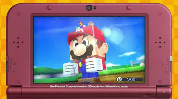 Mario & Luigi Paper Jam TV Spot, 'Disney Channel: Two Worlds' - Thumbnail 6
