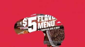 Pizza Hut $5 Flavor Menu TV Spot, 'Dile sí' [Spanish] - Thumbnail 8
