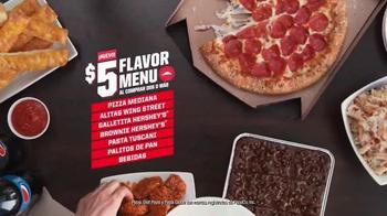 Pizza Hut $5 Flavor Menu TV Spot, 'Dile sí' [Spanish] - Thumbnail 2