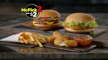McDonald's McPick 2 TV Spot, 'Queso derretido' [Spanish] - Thumbnail 7