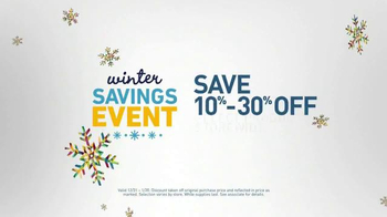 Lowe's Winter Savings Event TV Spot, 'Customer Credit Card' - Thumbnail 4
