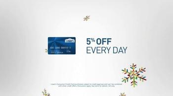 Lowe's Winter Savings Event TV Spot, 'Customer Credit Card' - Thumbnail 7